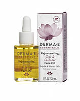Омолаживающее средство для сияния кожи лица с маслами шалфея и лаванды * Derma E (США) *