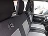 Чехлы на сиденья Ситроен Джампер (Citroen Jumper) 1+2  (универсальные, автоткань, с отдельным подголовником), фото 4