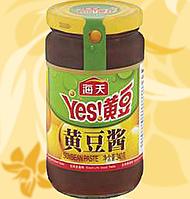 Гостра соєва паста , Hot Soyabean Paste, Haday, Yes!, 340г, Ме