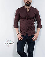 Чоловіча сорочка коричневого кольору