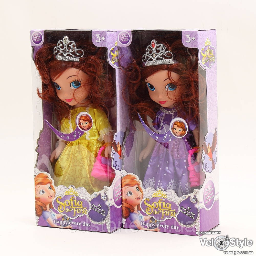 Кукла Принцесса София 228А музык.
