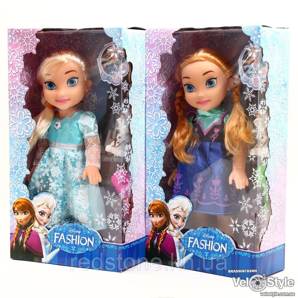 """Куклы """"Frozen"""" Анна и Эльза музыкальная со снеговиком"""
