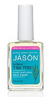 Засіб для пом'якшення кутикули і зміцнення нігтів з маслом чайного дерева *Jason (США)*
