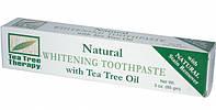 Отбеливающая зубная паста с маслом чайного дерева * Tea Tree Therapy (США)*