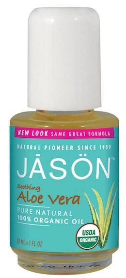 Органическое масло Алоэ Вера Beauty Organic для сухой кожи, сертификат USDA *Jason (США)*
