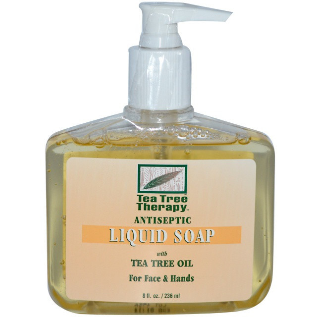 Жидкое мыло для лица и рук с маслом чайного дерева *Tea Tree Therapy (США)*