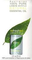 Эфирное масло 100% австралийского лимонного мирта * Tea Tree Therapy (США)*