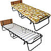 Раскладушка кровать-тумба Vista «Витязь» 198х72х37 см.