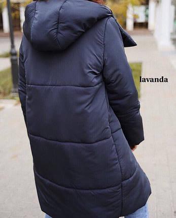 Женский стильный пуховик, фото 2