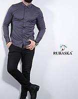 Чоловіча сорочка сірого кольору