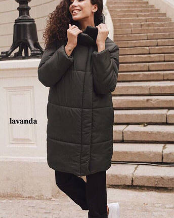 Куртка стильная женская удлиненная, фото 2