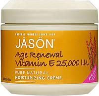 Оновлюючий антивіковий крем з вітаміном Е 25000 МО Jason США
