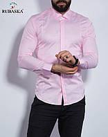 Чоловіча світло-рожева сорочка
