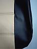 Чохли на сидіння ДЕУ Сенс (Daewoo Sens) (модельні, кожзам, пілот), фото 6