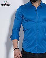 Чоловіча сорочка синя