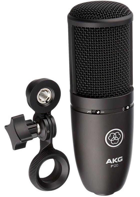 Мікрофон студійний конденсаторний AKG P120