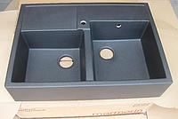 Мойка кухонная Marmorin EWIT 515203 накладная (черный), фото 1