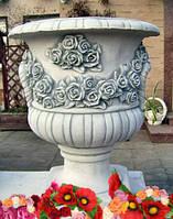Гибкая форма вазон *Троянда*, фото 1
