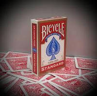 Карты игральные Bicycle Standard GOLD RED