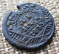 """Старинная античная монета """"Денга """" 1735г."""