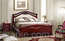 """Ліжко двоспальне з м'яким узголів'ям """"Маргарита"""" 160*200"""
