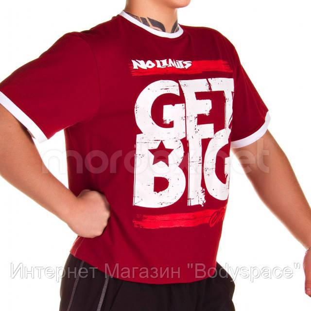Get Big, Футболка GET BIG красная MD3676