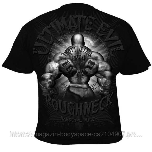 Silberrucken, Футболка MR34 Roughneck Ultimate Fighter черная