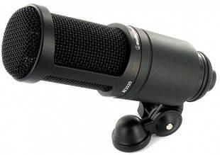 Мікрофон студійний конденсаторний Audio-Technica AT2020
