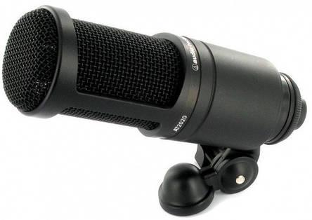 Мікрофон студійний конденсаторний Audio-Technica AT2020, фото 2