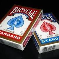 Карты игральные Bicycle Standard Gold  Red+Blue.