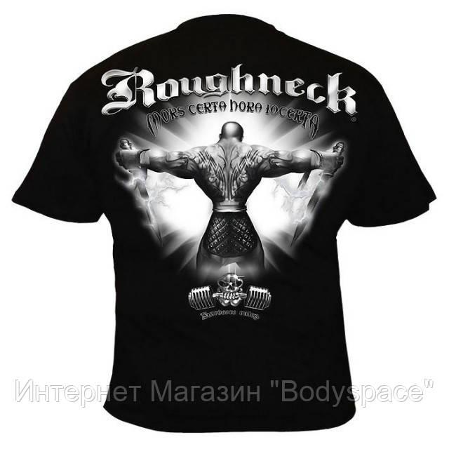 Silberrucken, Футболка MR18 Roughneck Mors Certa черная