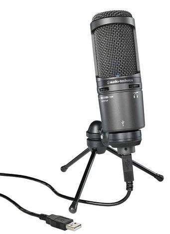 Мікрофон студійний конденсаторний Audio-Technica AT2020 USB Plus, фото 2