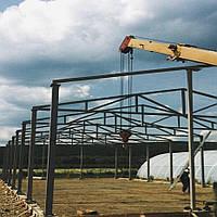 Ангар Двускат 24х60 навес, фермы, цех, здание, помещение, склад, сто, фото 1