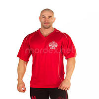 NPC, Футболка стрейчевая V-Neck Dri-Fit Top, красная