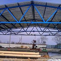 Зернохранилище 10х60 склад, ангар, цех, навес, фермы, крыша, здание, фото 1