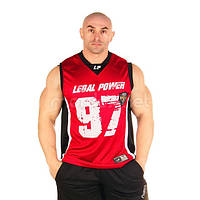 LegalPower, Футболка для бодибилдинга Legal Power 97, красная