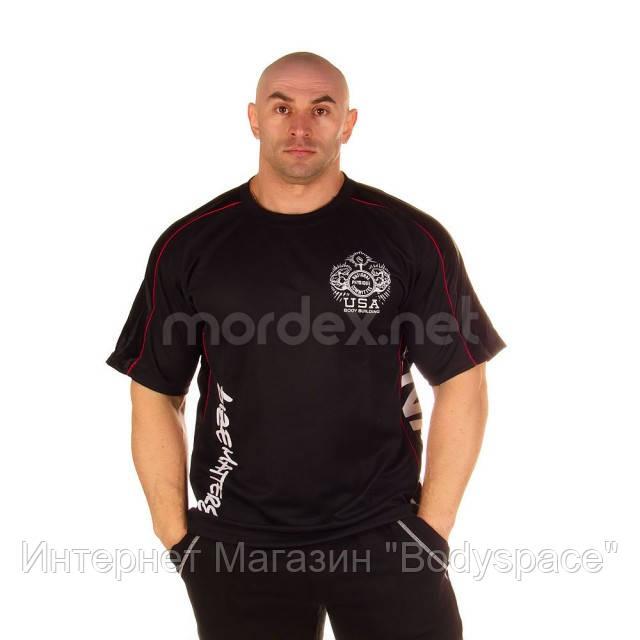 NPC, Футболка для бодибилдинга Micro/Polyester Top, черная, фото 1