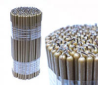 Свечи восковые магические 1 кг-150 штук Золотые