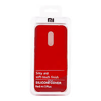 Чехол Silicone Cover для Xiaomi Redmi 5 Plus (Red)