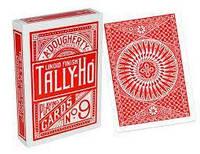 Карты игральные TALLY-HO Circle Back (RED)