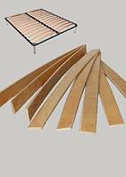 Березовые Ламели для кроватей с креплениями 800х53х8 мм