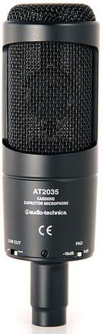 Мікрофон студійний конденсаторний Audio-Technica AT2035, фото 2