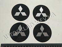 Эмблема MITSUBISHI на колпак SJS (Турция) (к-т 4 шт) продается только с колпаками