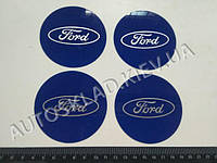Эмблема FORD на колпак SJS (Турция) (к-т 4 шт) продается только с колпаками