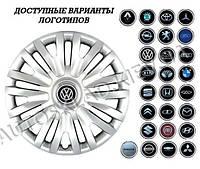 """Колпаки SJS (Турция), 14"""" 217 VW (к-т 4 шт) + эмблема на выбор"""