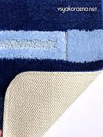 Коврик для ванной и туалета Nefertiti синий (80*50 см)