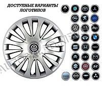 """Колпаки SJS (Турция), 15"""" 329 Toyota (к-т 4 шт) + эмблема на выбор"""
