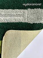 Коврик для ванной и туалета Nefertiti зеленый (80*50 см)