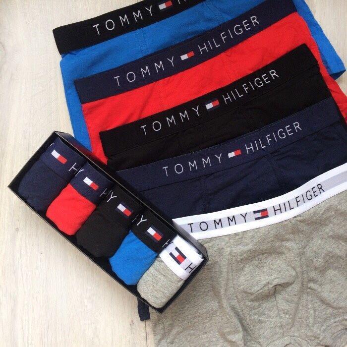 245d66ae9366d Подарочный набор мужского нижнего белья Tommy Hilfiger боксеры - реплика 5  шт - Интернет-магазин