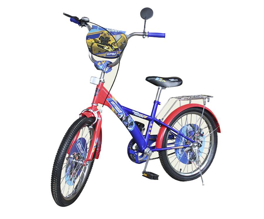 """Велосипед 2-х коліс 14"""" 171411 (1шт) з дзвінком,дзеркалом,руч.гальма"""